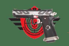 Armorer Works Custom Hi-Capa Silver/Black image
