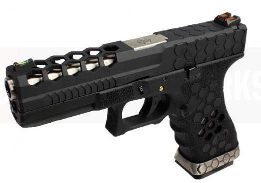 Armorer Works Hex-Cut – Black Slide product image