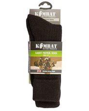 Kombat Cadet Socks – Black (Size: 4-7) image