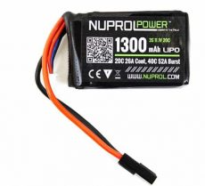 Nuprol 1300MAH 11.1V 20C PEQ Micro Lipo image