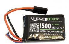 Nuprol 1500MAH 7.4V 20C PEQ Micro lipo image