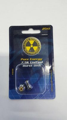 Pure Energy 7.5k Burst disk (pair) product image