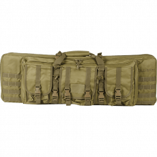 Valken Tactical 42″ Double Rifle Tactical Gun Case – Tan image