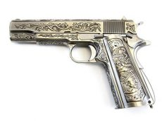WE 1911 Chrome Etched Special Edition image