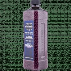 BBs – Valken Tactical 0.25g 5000ct Bottle image