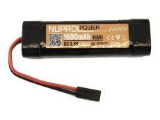 Nuprol 1600MAH 9.6V NIMH Small Type image