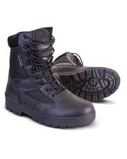 Kombat Patrol Boots – Half Leather – Brown image