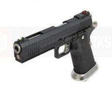 Armorer Works Custom Hi-Capa GBBP (Full Black Slide – Black Frame) image