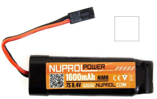 NP POWER 1600MAH 8.4V Nimh Small Type product image