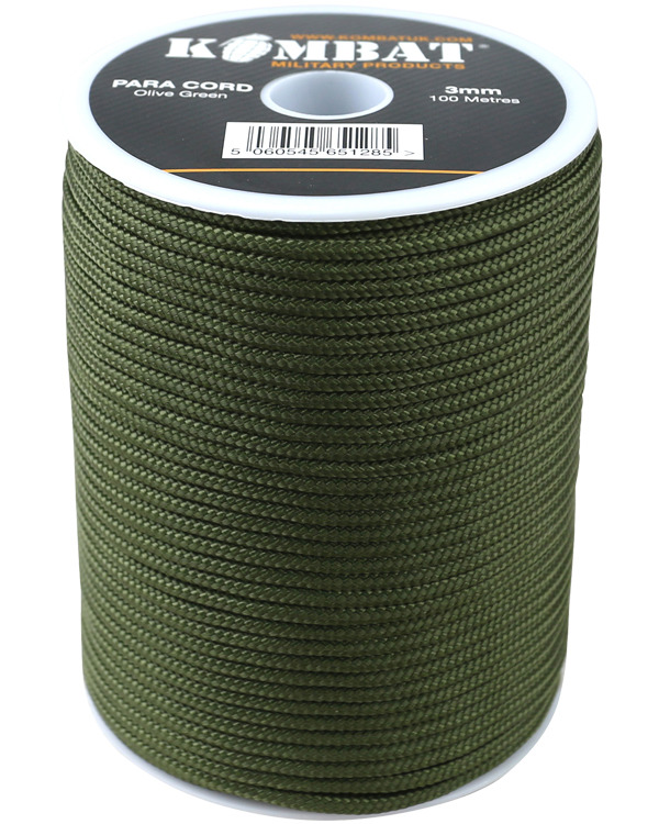 Paracord – 100m Reel – GREEN product image