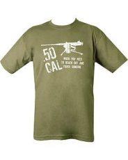 50 Cal T-Shirt – Green image