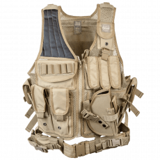 Valken Crossdraw Vest Adult – TAN image