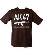 AK47 T-Shirt – Black image