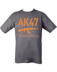 AK47 T-Shirt Grey image