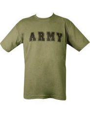 ARMY T-shirt – Olive Green image