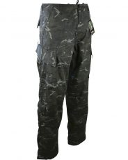 Kombat ACU Assault Trousers – BTP Black image