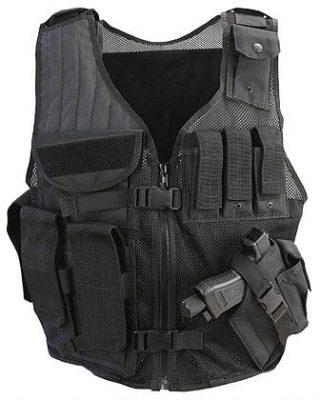 Kombat Cross Draw Tac-Vest Youth – Black product image