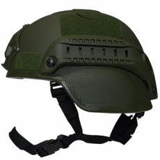 Valken Tactical Airsoft MICH 2000 Helmet w/Mount & Rails Green image