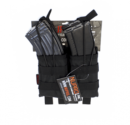 NP PMC AK DOUBLE OPEN MAG POUCH – BLACK product image