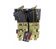 NP PMC AK Double Open Mag Pouch – NP Camo image