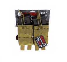 NP PMC G36 DOUBLE OPEN MAG POUCH – TAN image