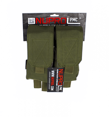 NP PMC M4 DOUBLE FLAP LID MAG POUCH – GREEN product image