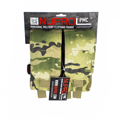 NP PMC M4 DOUBLE FLAP LID MAG POUCH – NP CAMO product image