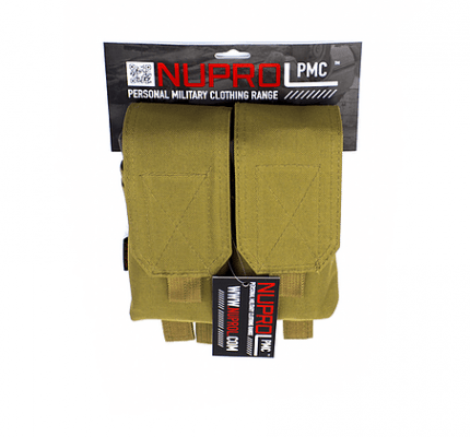 NP PMC M4 DOUBLE FLAP LID MAG POUCH – TAN product image