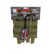 NP PMC M4 Double Open Mag Pouch – Green image
