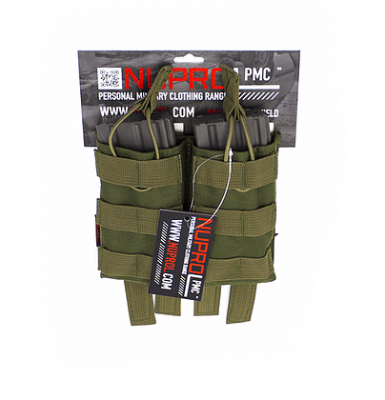 NP PMC M4 Double Open Mag Pouch – Green product image