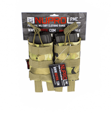 NP PMC M4 Double Open Mag Pouch – NP Camo image