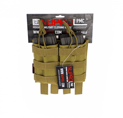 NP PMC M4 DOUBLE OPEN MAG POUCH – TAN product image