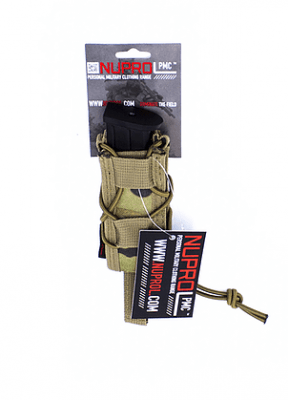 NP PMC PISTOL OPEN TOP POUCH – NP CAMO product image