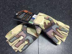 Highlander Raptor Fingerless Gloves – Camo image