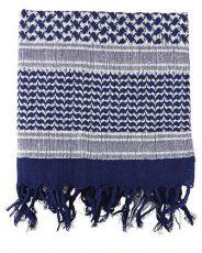 Kombat Shemagh – Blue & White image