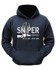Sniper Hoodie – Black image