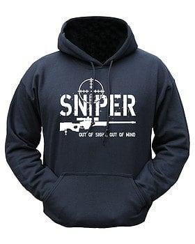 Sniper Hoodie – Black product image