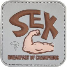 VIPER BREAKFAST OF CHAMPS MORALE PATCH image