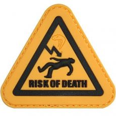 VIPER 'RISK OF DEATH' MORALE PATCH image