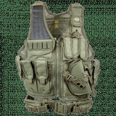 Valken Crossdraw Vest Adult – Olive Green image