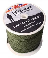 WEB-TEX PARACORD ON REEL image