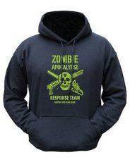 Zombie Apocalypse Hoodie – Black image