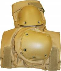 Highlander Hard Shell Knee Pads – Tan image