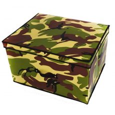 Camouflage Fold Away Toy Box image