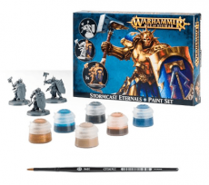 Games workshop Stormcast Eternals + Paint Set image