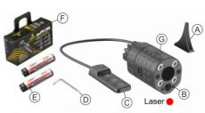 Laser Led XG110NB – Red Laser image