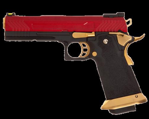 Armorer Works Custom Hi-Capa GBBP (Full Red Slide) product image