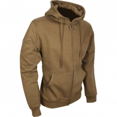 Tactical Zipped Hoodie – Coyote image