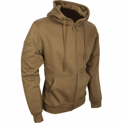 Tactical Zipped Hoodie – Coyote product image