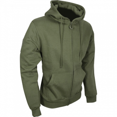Viper Tactical Zipped Hoodie – Green product image